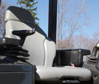 Bulldozer Seat