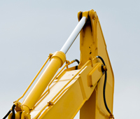 Kobelco Excavator Stick Cylinder