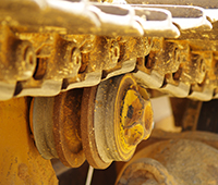 Caterpillar Excavator Undercarriage