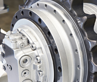 Samsung Excavator Propel Motor